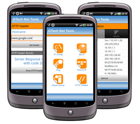 GTech Network Tools - Android