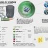 Infografía de la historia de las partículas en el modelo estándar
