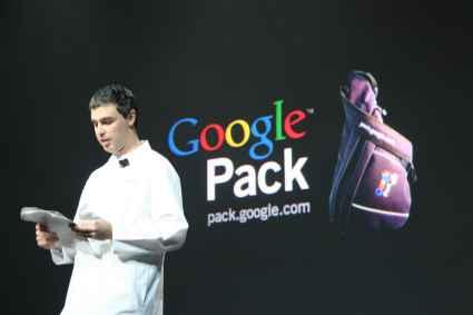 Larry Page en la CES 2006