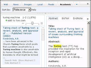 Resultados de Academic Search