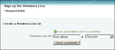 Windows Live Email