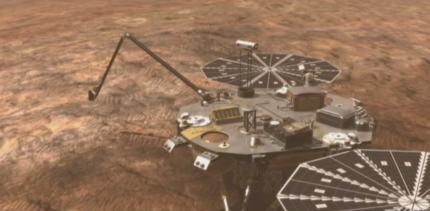 Phoenix Mars  poco despues del aterrizaje