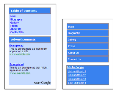 Anuncios de Google AdSense permitidos
