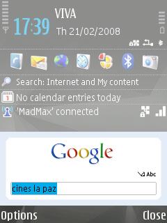 Caja de búsqueda de Google