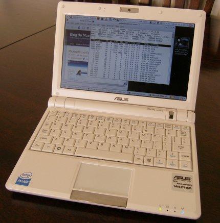 Asus PC900 con Ubuntu 8.04
