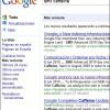 Resultados de Google Caffeine